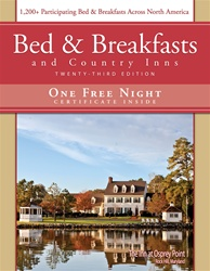 EXPIRED!  Bed & Breakfasts and Country Inns, 24th Ed. Certificate Expires 12-31-2013