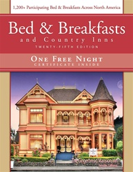 Bed & Breakfasts and Country Inns, 25th Ed. Voucher Expires 12-31-2015