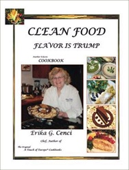 """Clean Food - Flavor is Trump"" Cookbook"